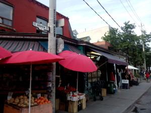 Kensington Market in Toronto near Planet Traveler Hostel by Leslie Lello