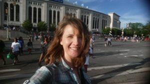 TravelBetterPodcasts.com at Yankee Stadium, New York City