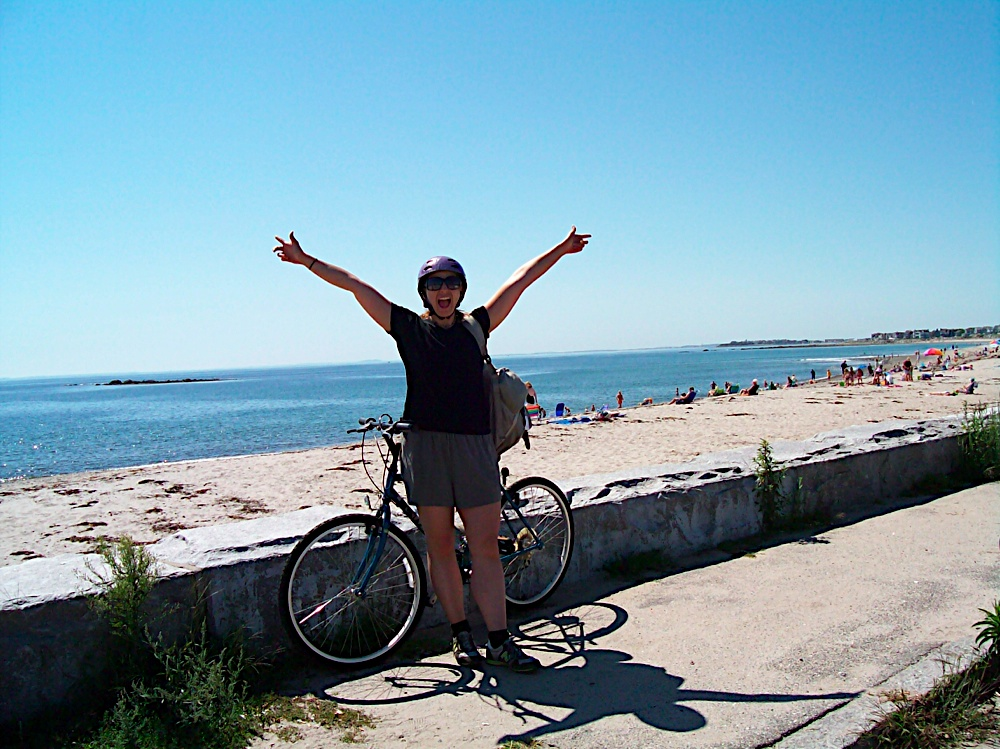 Biking the New Hampshire Coastline
